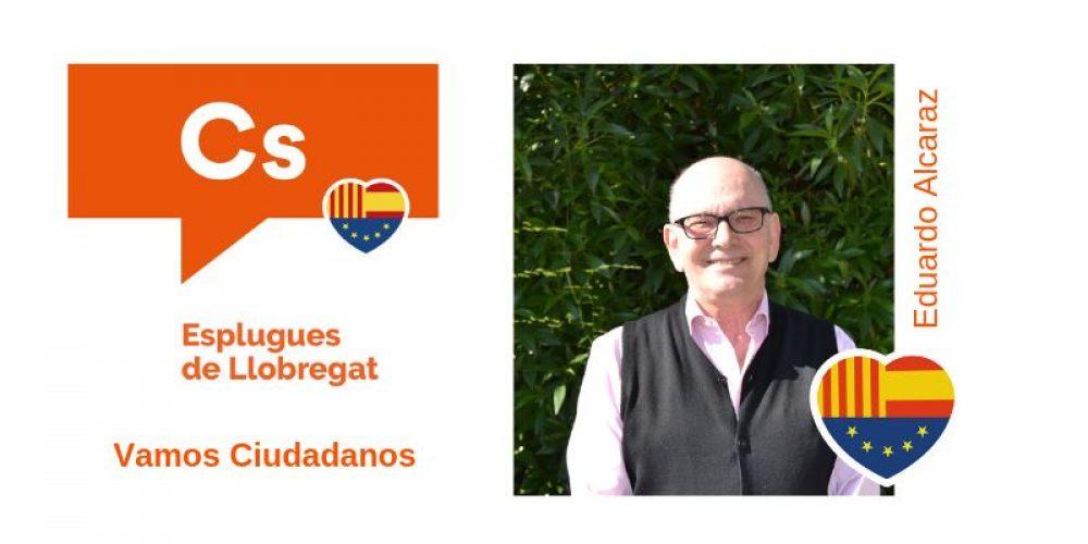 Conoce a Eduardo Alcaraz nº11 de Cs para el Ayuntamiento de Esplugues de Llobregat