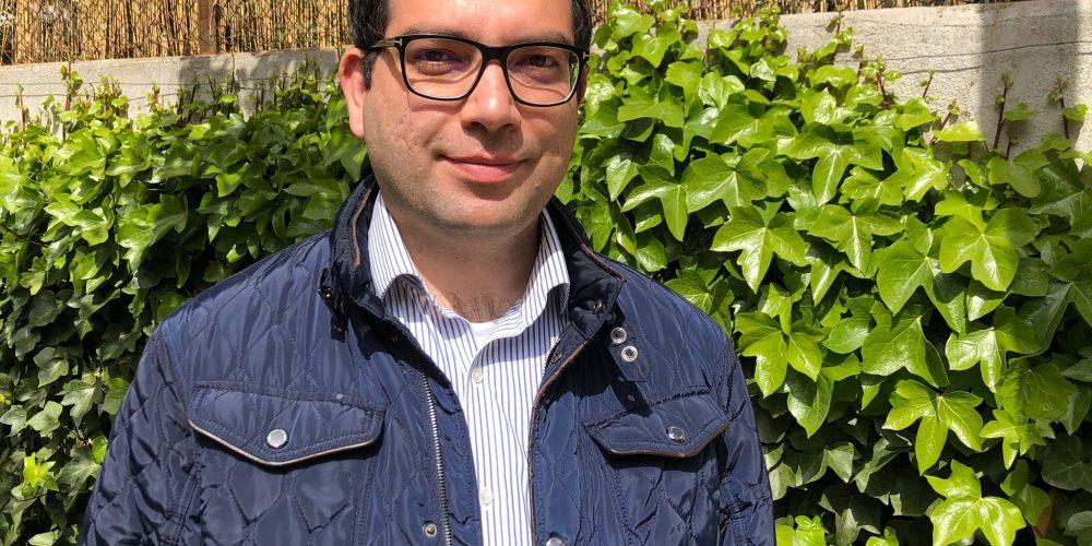 Presentación de Ali Beizaee  nuevo concejal de Cs en el Ayuntamiento de Esplugues