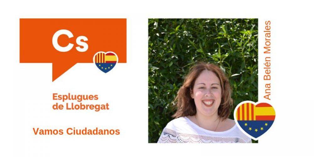 Conoce a Ana Belén Morales nº8 de Cs para el Ayuntamiento de Esplugues de Llobregat