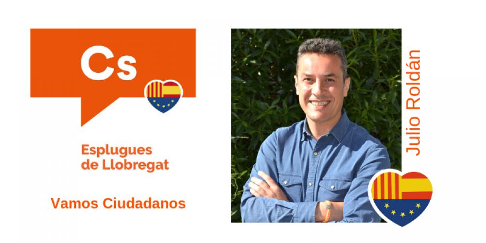 Conoce a Julio Roldán candidato de Cs para la alcaldía de Esplugues de Llobregat
