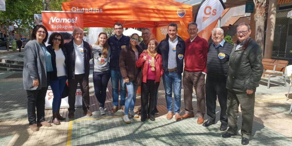 Domingo naranja en Esplugues