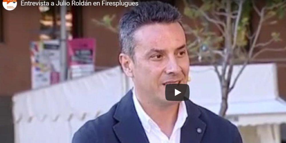 Entrevista a Julio Roldán en Firesplugues 2019