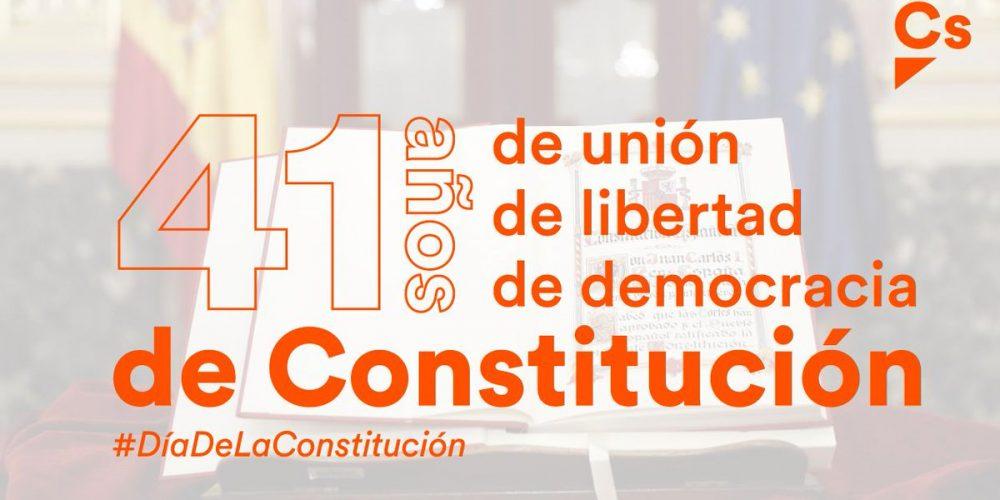 41 años de la Constitución Española