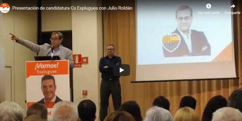 Vídeo de la presentación de candidatura