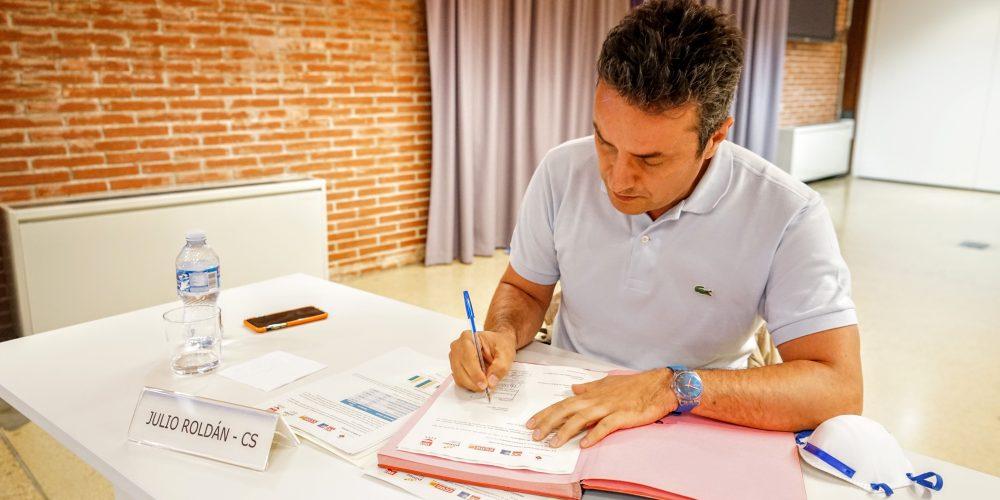 Firma del Plan de Reconstrucción económico y social para la Covid-19 en Esplugues de Llobregat