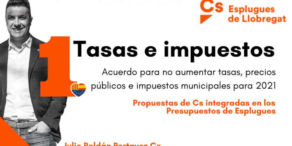 Resumen de las propuestas de Ciudadanos incluidas en el Presupuesto Municipal