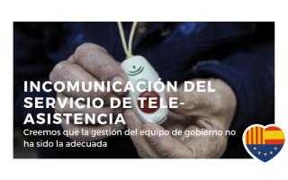 Muy pendientes del problema surgido por la avería de Movistar que provocó incomunicación en el servicio de tele-asistencia