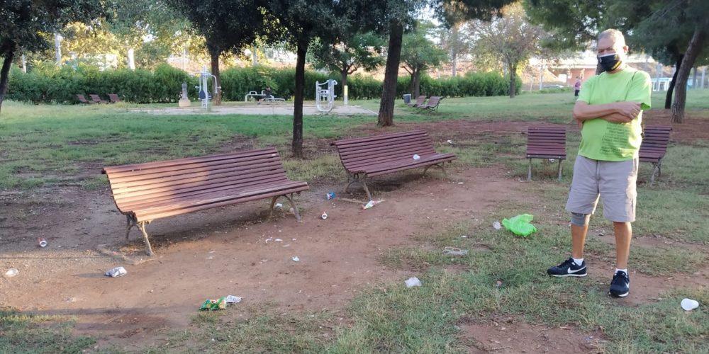Falta de civismo en Esplugues de Llobregat