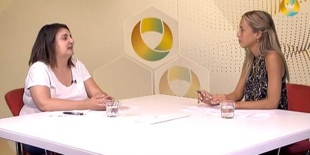Entrevista de Gemma García en ETV